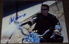 Arnold Schwarzenegger Signed 11x14 Photo The Terminator Autograph Psa/dna W55737