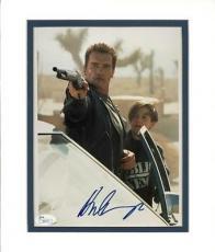 Arnold Schwarzenegger Signed 8X10 Matted Photo Autograhed JSA #I00171