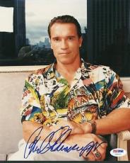 Arnold Schwarzenegger Signed 8x10 Photo Autographed Psa/dna #u65971
