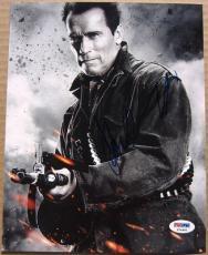 Arnold Schwarzenegger signed 8x10 photo Terminator PSA/DNA autograph