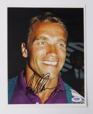 Arnold Schwarzenegger Signed Authentic Autographed 8x10 Photo (PSA/DNA) #T58806