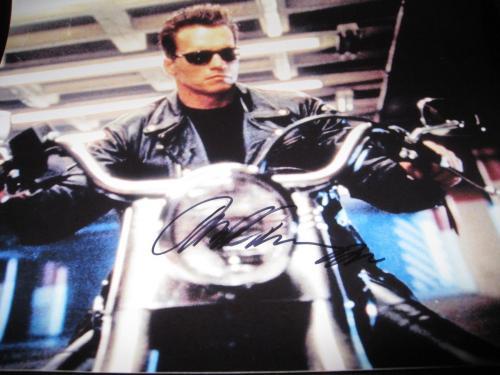 Arnold Schwarzenegger Signed Autograph 11x14 Photo Terminator Promo Proof Coa K