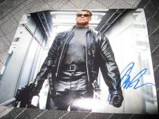 ARNOLD SCHWARZENEGGER SIGNED AUTOGRAPH 8x10 PHOTO TERMINATOR IN PERSON PROOF H
