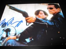 ARNOLD SCHWARZENEGGER SIGNED AUTOGRAPH 8x10 PHOTO TERMINATOR IN PERSON PROOF I