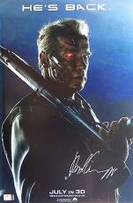 Arnold Schwarzenegger Signed Autographed 12X18 Photo Terminator: Genisys 809443