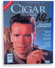 Arnold Schwarzenegger Signed Autographed Magazine Summer 1996 PSA V88015