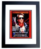 Arnold Schwarzenegger Signed - Autographed TERMINATOR 11x14 inch Photo BLACK CUSTOM FRAME - Guaranteed to pass PSA or JSA