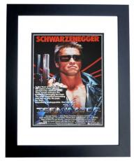 Arnold Schwarzenegger Signed - Autographed TERMINATOR 11x14 inch Photo BLACK CUSTOM FRAME - Guaranteed to pass PSA or JSA