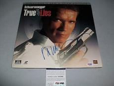 "ARNOLD SCHWARZENEGGER signed autographed ""TRUE LIES"" LASER DISC PSA/DNA COA"