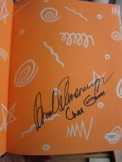 Arnold Schwarzenegger signed book Arnold's Fitness for Kids 1993 JSA 1st Print