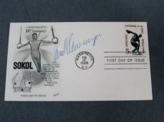 Arnold Schwarzenegger Signed SOKOL First Day Issue Cachet JSA COA