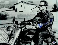 Arnold Schwarzenegger Signed Terminator Authentic 11x14 Photo PSA/DNA #Q86332