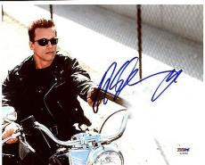 Arnold Schwarzenegger Terminator 2 Signed 8X10 Photo PSA/DNA #AC45049