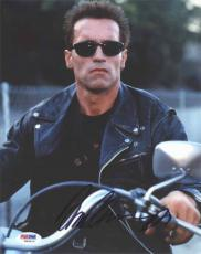 Arnold Schwarzenegger Terminator Autographed Signed 8x10 Photo Certified PSA/DNA