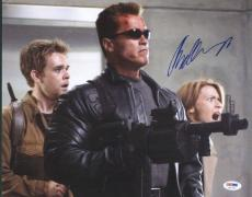 Arnold Schwarzenegger Terminator Signed 11x14 Photo Psa/dna #u51792