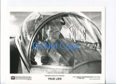 Arnold Schwarzenegger True Lies Original Movie Still Press Photo