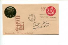Art Arthur Fry 3M Post It Inventor Signed Autograph FDC