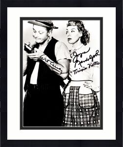 Art Carney and Joyce Randolph Signed - Autographed The Honeymooners 8x10 inch Photo - Ed and Trixie Norton - Guaranteed to pass BAS