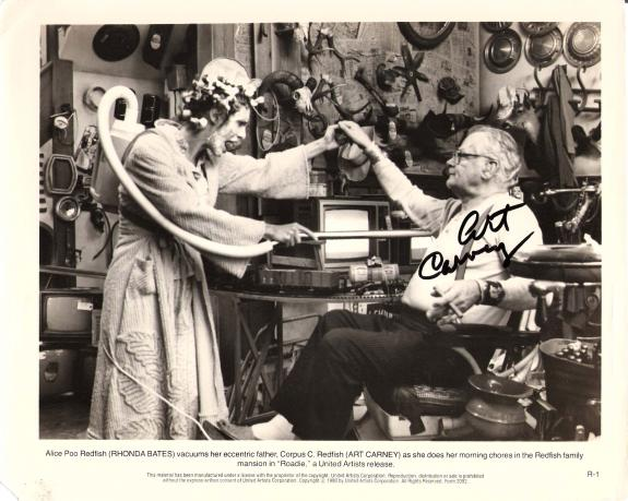 "Signed Carney Photograph - with ""ROADIE"" Inscription"