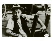 "Art Carney Autographed 8"" x 10"" Sitting on Chair Black & White Photograph - JSA"