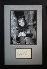 Art Carney Autographed Photograph - Batman The Archer framed display JSA Auth