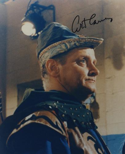 Art Carney Signed Autographed The Archer Color Batman Photo