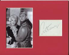 Art Carney The Archer Batman Villian Rare Signed Autograph Photo Display