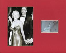 Arthur Miller Author Playwright Signed Autograph Photo Display W/ Marilyn Monroe