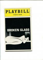 Arthur Miller Broken Glass Signed Broadway Play Opening Night Autograph Playbill
