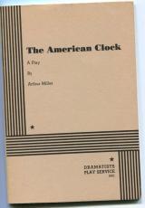 Arthur Miller The American Clock Rare Signed Autograph Play