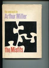 Arthur Miller The Misfits Rare Signed Hardcover 1st Edition Autograph Book