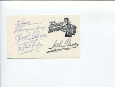 Arthur Tracy The Street Singer Rambling Rose of the Wildwood Signed Autograph
