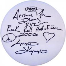 Artimus Pyle Autographed Evans 13' Drum Head