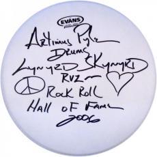 Artimus Pyle Autographed Evans 14' Drum head