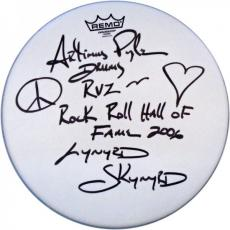 Artimus Pyle Autographed Remo 14' Drum Head