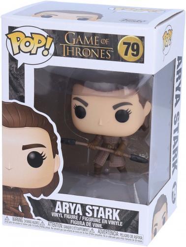 Arya Stark w/ Two-Headed Spear Game of Thrones #79 Funko Pop! Figurine
