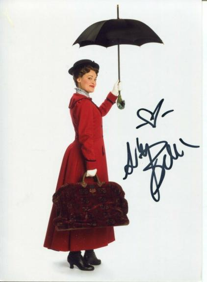 Ashley Brown Mary Poppins Broadway Star Signed Autograph Photo