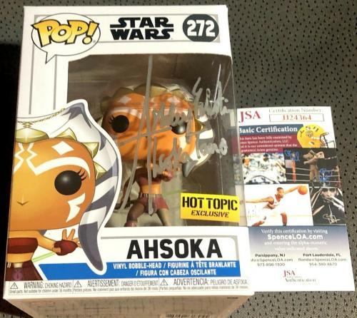 Ashley Eckstein signed autographed Ahsoka Tano Star Wars Clone Funko Pop 272 JSA