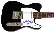 Ashley Judd Autographed Tele Signed Guitar UACC RD & PSA/DNA