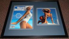 Ashley Montana Signed Framed 1991 Sports Illustrated Swimsuit Issue Display