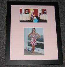 Ashley Tisdale Signed Framed 16x20 Photo Set Family Guy