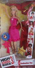 Ashley Tisdale Signed HSM3 Highschool Musical Doll PSA