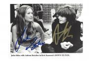"ASHTON KUTCHER as JIM MORRISON and JULIA STILES as IMOGEN in 2000 Movie ""DOWN to YOU"" Signed 8x5 B/W Photo"