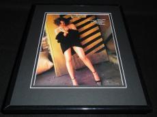 Asia Argento 2002 Heels Framed 11x14 Photo Display