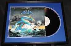 Asia Group Signed Framed 1982 Record Album Display