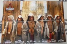 Assassins Creed Unity All UFC Team Centerfold Poster Cain Velasquez TJ Dillashaw