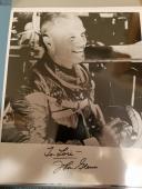 "Astronaut John Glenn Hand Signed Autographed Bw Photo ""to Lori"