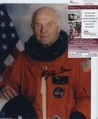 Astronaut John Glenn Hand Signed Autographed Color Photo Jsa Coa Spence