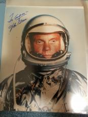 "Astronaut John Glenn Hand Signed Autographed Color Photo ""to Andrea"