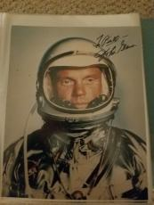"Astronaut John Glenn Hand Signed Autographed Color Photo ""to Bill"